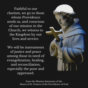 Justice & Peace Ministry | Sisters of St  Francis of the