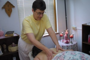 Sister Althea, licensed massage therapist